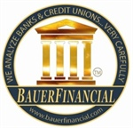 Bank Earns 47th Consecutive Bauer 5-Star Rating